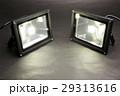 点灯している2つのLED投光器 29313616