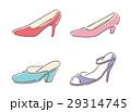 女性 ベクター 靴のイラスト 29314745