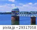 多摩湖 村山貯水池 青空の写真 29317058