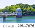 多摩湖 村山貯水池 青空の写真 29317076