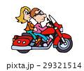 大型バイクイラスト、アメリカンバイク 29321514
