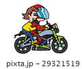 大型バイクイラスト、アメリカンバイク 29321519