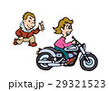 大型バイクイラスト、アメリカンバイク 29321523