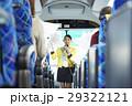 女性 バスツアー バスガイドの写真 29322121