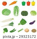 野菜 ベジタブル イラストのイラスト 29323172