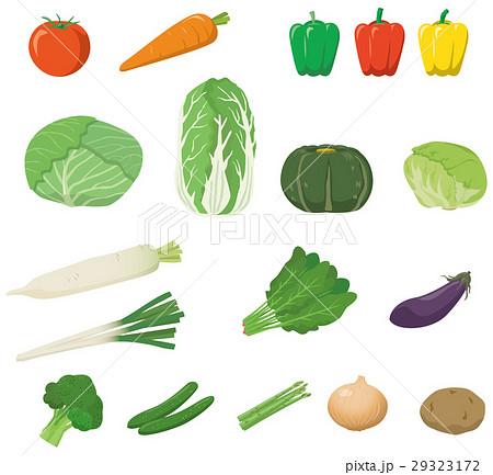 野菜のイメージイラストセット 29323172