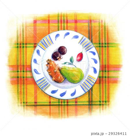 お気に入りの小皿-フルーツデザート- 29326411