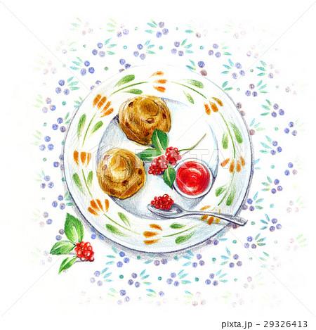 お気に入りの小皿-アフタヌーンティー- 29326413