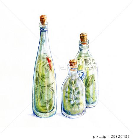 ハーブオイル瓶 29326432