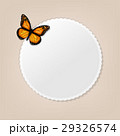 Label With Butterfly 29326574