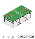 Table Tennis Game Isometric View. Vector 29327436
