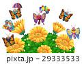 お花 フラワー 咲く花のイラスト 29333533