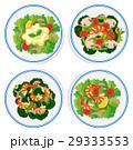 白背景 切り抜き お皿のイラスト 29333553