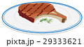 白背景 切り抜き 料理のイラスト 29333621