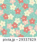 Blooming sakura seamless pattern 29337829