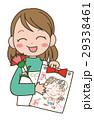 プレゼント 母の日 カーネーションのイラスト 29338461
