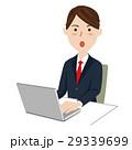 ビジネスマン デスクワーク ベクターのイラスト 29339699