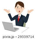 ビジネス ビジネスマン デスクワークのイラスト 29339714