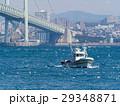 いかなご漁 漁船 明石海峡の写真 29348871