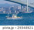 いかなご漁 漁船 明石海峡の写真 29348921