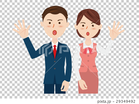 man and woman, businessman, business woman 29349492