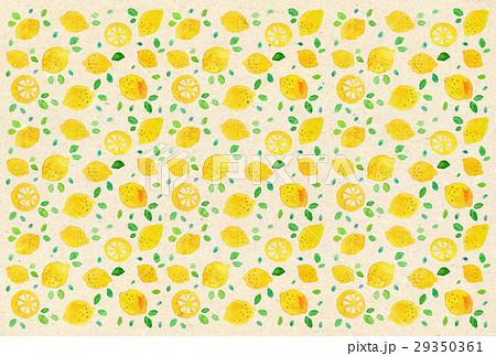 背景素材 水彩 レモン 29350361