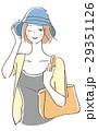 ベクター 笑顔 女性のイラスト 29351126