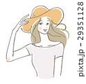 女性 帽子 29351128