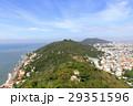 ベトナム、ブンタウ キリスト像から北西側の眺め 29351596