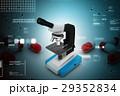 ミクロ マイクロスコープ 顕微鏡のイラスト 29352834