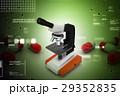 ミクロ マイクロスコープ 顕微鏡のイラスト 29352835