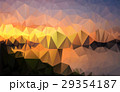 Abstract landscape polygon background EPS10. 29354187