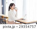 女性 カフェ コーヒーの写真 29354757