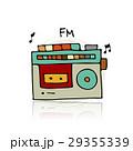 ラジオ 無線機 レトロのイラスト 29355339