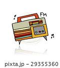 ラジオ 無線機 レトロのイラスト 29355360
