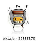 ラジオ 無線機 レトロのイラスト 29355375