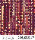 円形 パターン 模様のイラスト 29363517