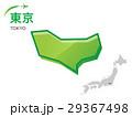 東京 東京都 地図のイラスト 29367498