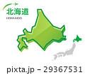 北海道 地図 マップのイラスト 29367531