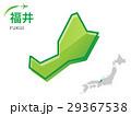 福井 福井県 地図のイラスト 29367538