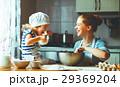 キッチン 台所 家族の写真 29369204