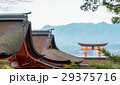 Itsukushima Shrine roof top 29375716