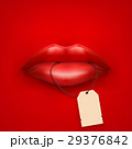 Background of Woman mouth with tag and lips 29376842