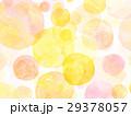 水彩 テクスチャー 虹色 シャボン玉 29378057