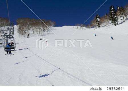 富良野スキー場のテクニカルコース(山頂付近) 29380644