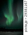 オーロラ イエローナイフ 夜空の写真 29381167