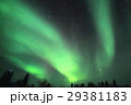 オーロラ イエローナイフ 夜空の写真 29381183