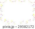 バルーン 背景 フラッグのイラスト 29382172