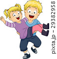 子供 少年 キャリーのイラスト 29382958