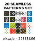 Seamless patterns set 29383866